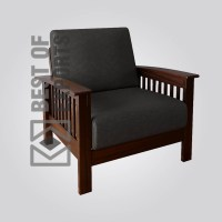 Modern Leather Armchair - Best Of Exports