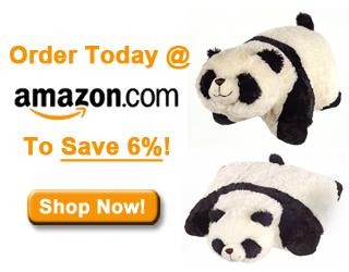 comfy panda pillow pet comfy panda pillow pet