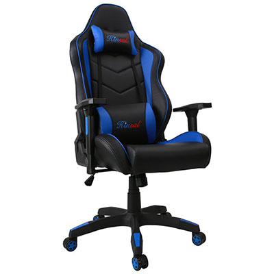 gaming chair review metal bistro chairs sale kinsal ergonomic leather racer