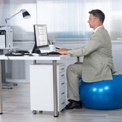 Bouncy Ball Chair Office Chairs Deals What Is The Best Size Exercise For Sitting At Desk