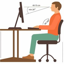 Office Chair Height Wayfair Adirondack Cushions What Does The Standard Stand For