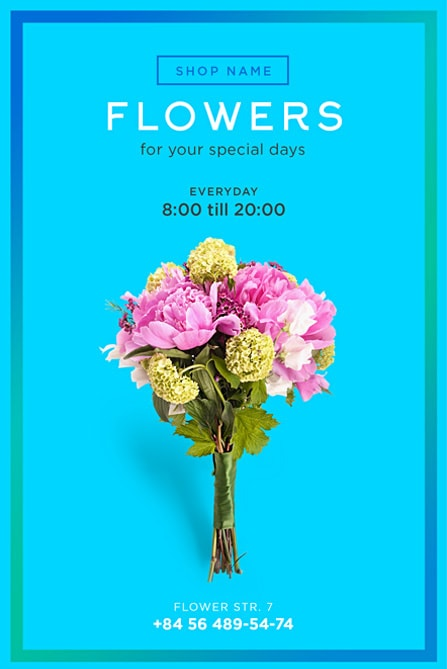 Flower Shop Free Flyer Template Best Of Flyers