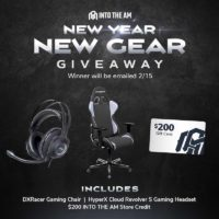 DXRacer Gaming Chair, HyperX Gaming Headset, and more ...