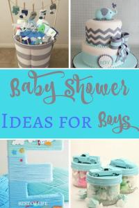 Baby Shower Ideas for Boys | Themes, DIY, Food, and Budget ...