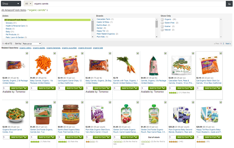 Where Does Amazonfresh Get Their Groceries