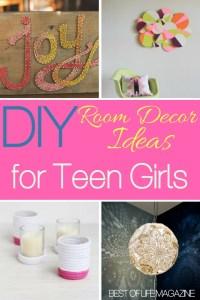 DIY Room Decor Ideas for Teens Girls will Love