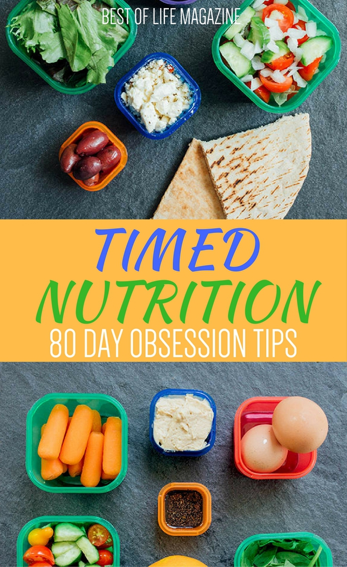 80 Day Obsession Timed Nutrition Tips What To Know