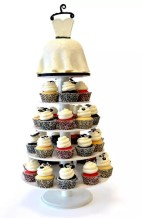 NJ Weddings-Pink Cake Box-Cupcake Stands