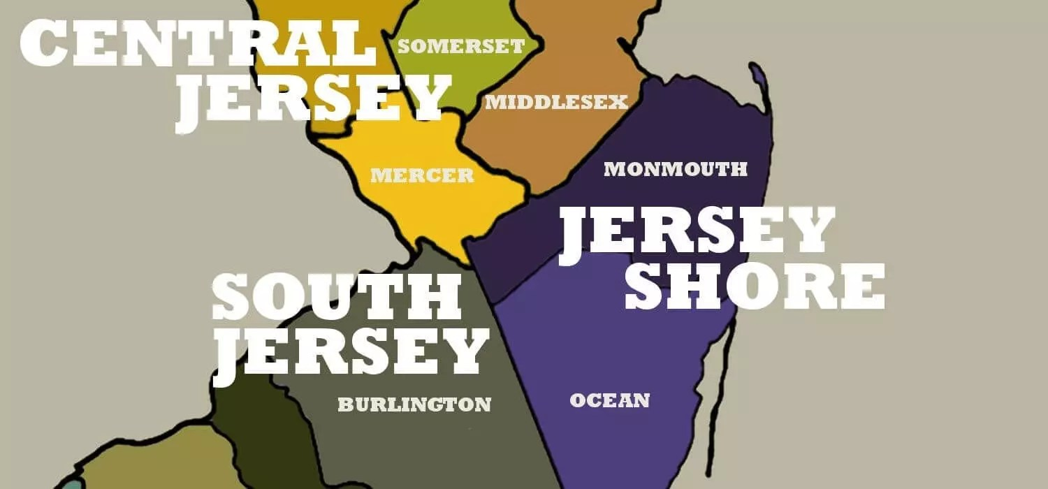 nj regions map south north central jersey shore. nj regions map south north central jersey shore  best of nj