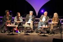 Claudia Rankine, Marilyn Chin, Juan Felipe, Vijay Seshadri and Brenda Hillman