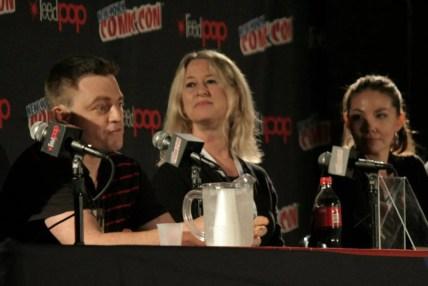 Comic Book Masterminds Panel (left to right): Scott Snyder, Karen Berger and Marjorie Liu