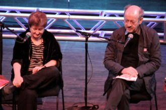 Katha Pollitt and Billy Collins
