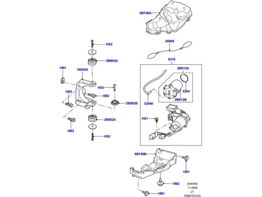 Range Rover Sport Air Suspension Diagram