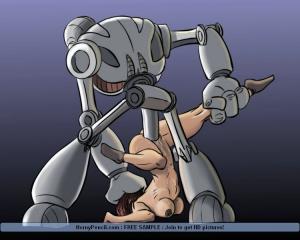 anime robot bondage