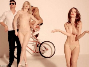 Robin thicke blurred lines nude 300X226 size