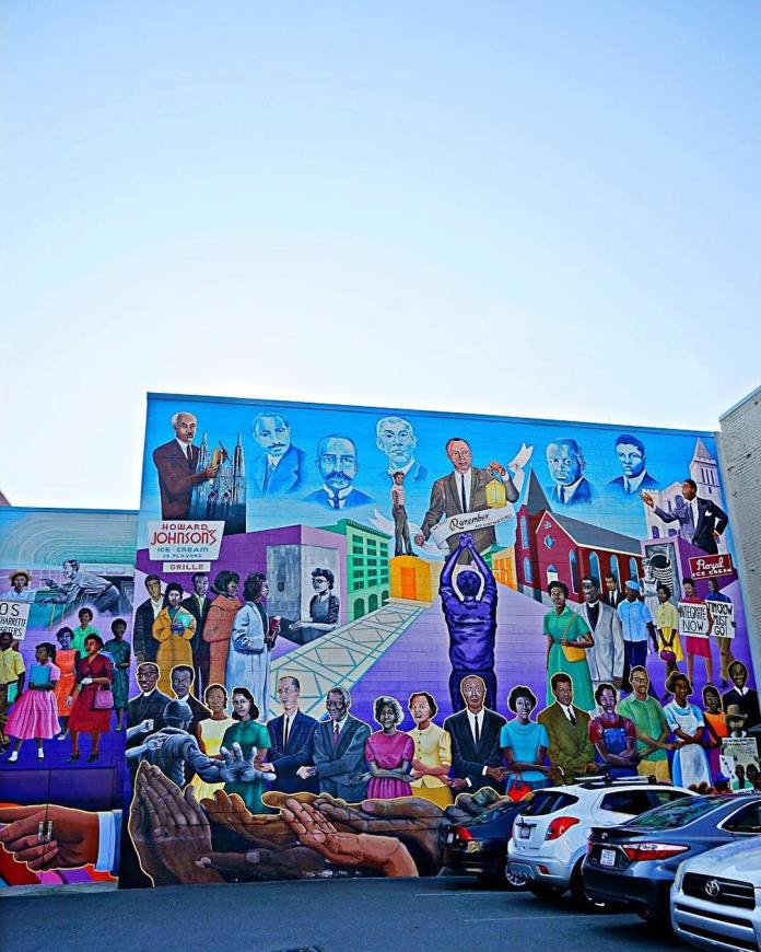free things to do in durham outdoor street art murals