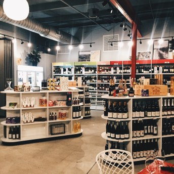 Retail wine space