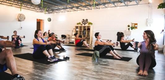Sync Studio Fitness at the Cube fitness studios durham nc