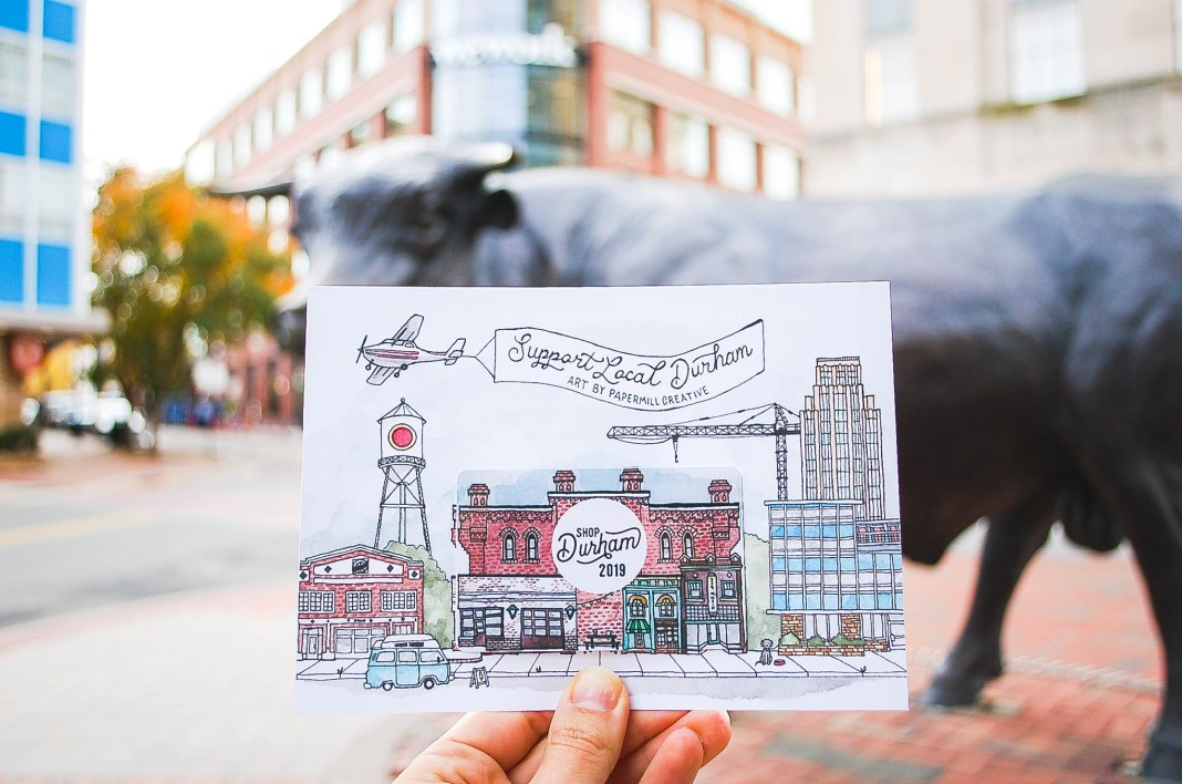 2019 Shop Durham Card shop local durham nc