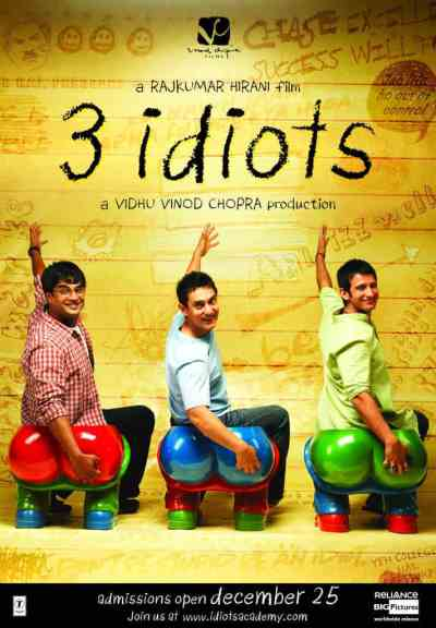 3 इडियट्स movie poster