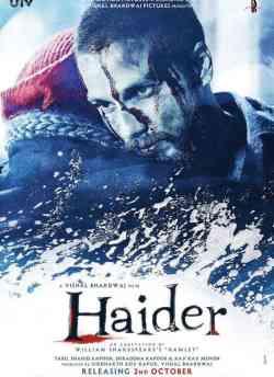 हैदर movie poster