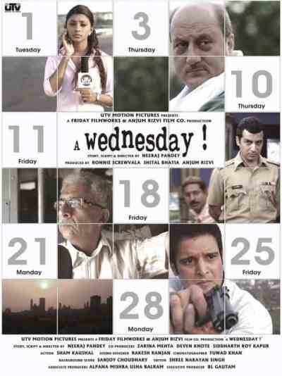 A Wednesday movie poster