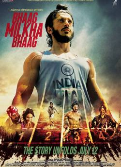 Bhaag Milkha Bhaag movie poster