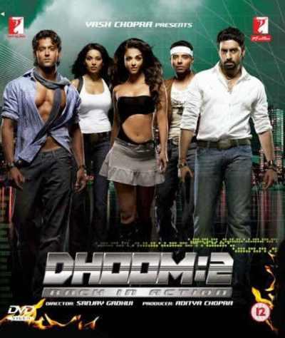 धूम 2 movie poster