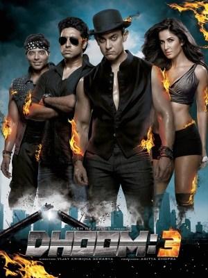 धूम  3 movie poster
