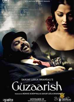 Guzaarish movie poster