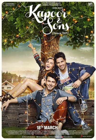 Kapoor & Sons movie poster