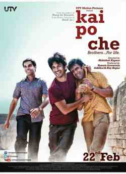 Kai Po Che movie poster
