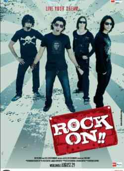 Rock On movie poster
