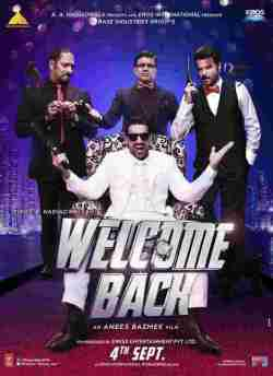 Welcome Back movie poster