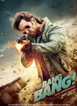 बैंग बैंग movie poster