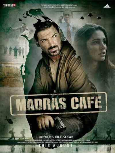 मद्रास कैफ़े movie poster