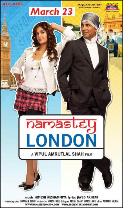नमस्ते लंदन movie poster