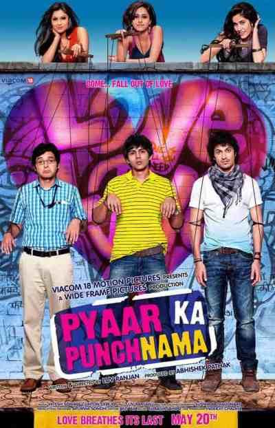 प्यार का पंचनामा movie poster