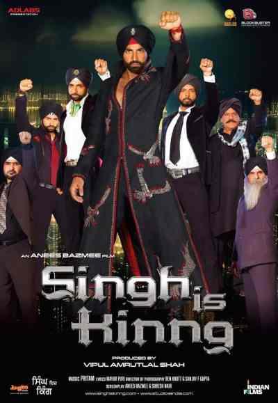 Singh is Kinng movie poster