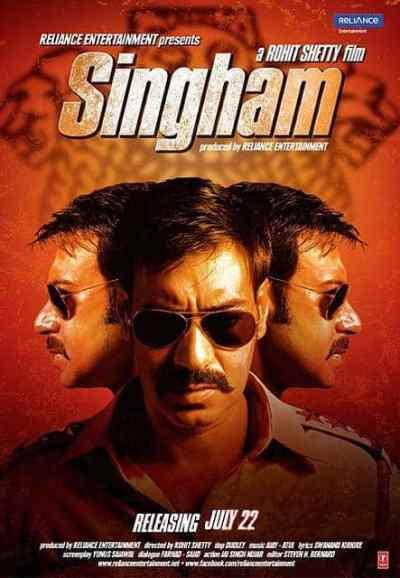 सिंघम movie poster