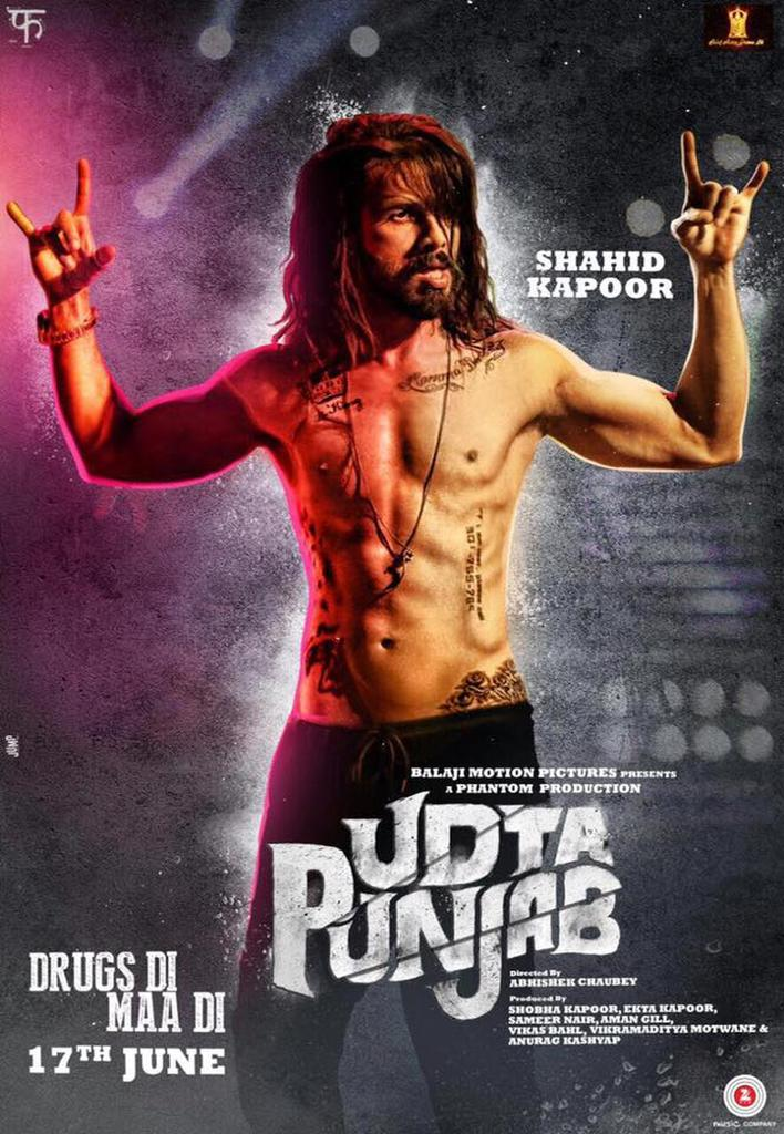 Udta Punjab 2016 Hindi 1080p Bluray x264 DTS-HDMA-5.1 – Hon3yHD |G- Drive |