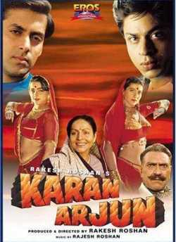 Karan Arjun movie poster