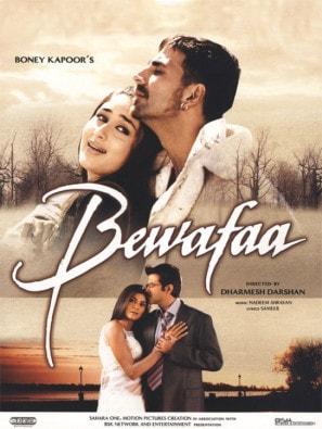 Bewafaa movie poster