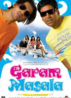 Garam Masala movie poster