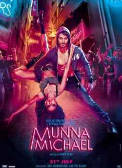 मुन्ना माइकल movie poster