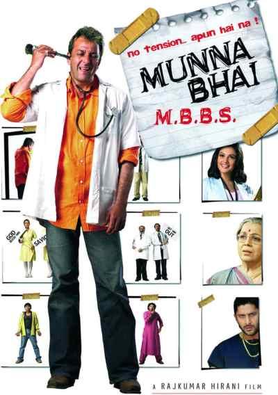 Munnabhai M.B.B.S. movie poster