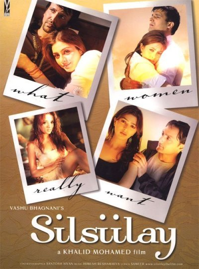 Silsiilay movie poster