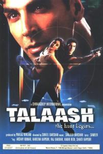 Talaash – The Hunt Begins Poster