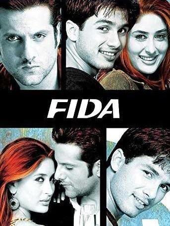 फ़िदा movie poster