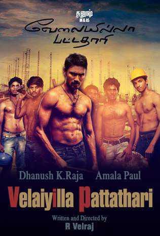 Velaiilla Pattadhari movie poster